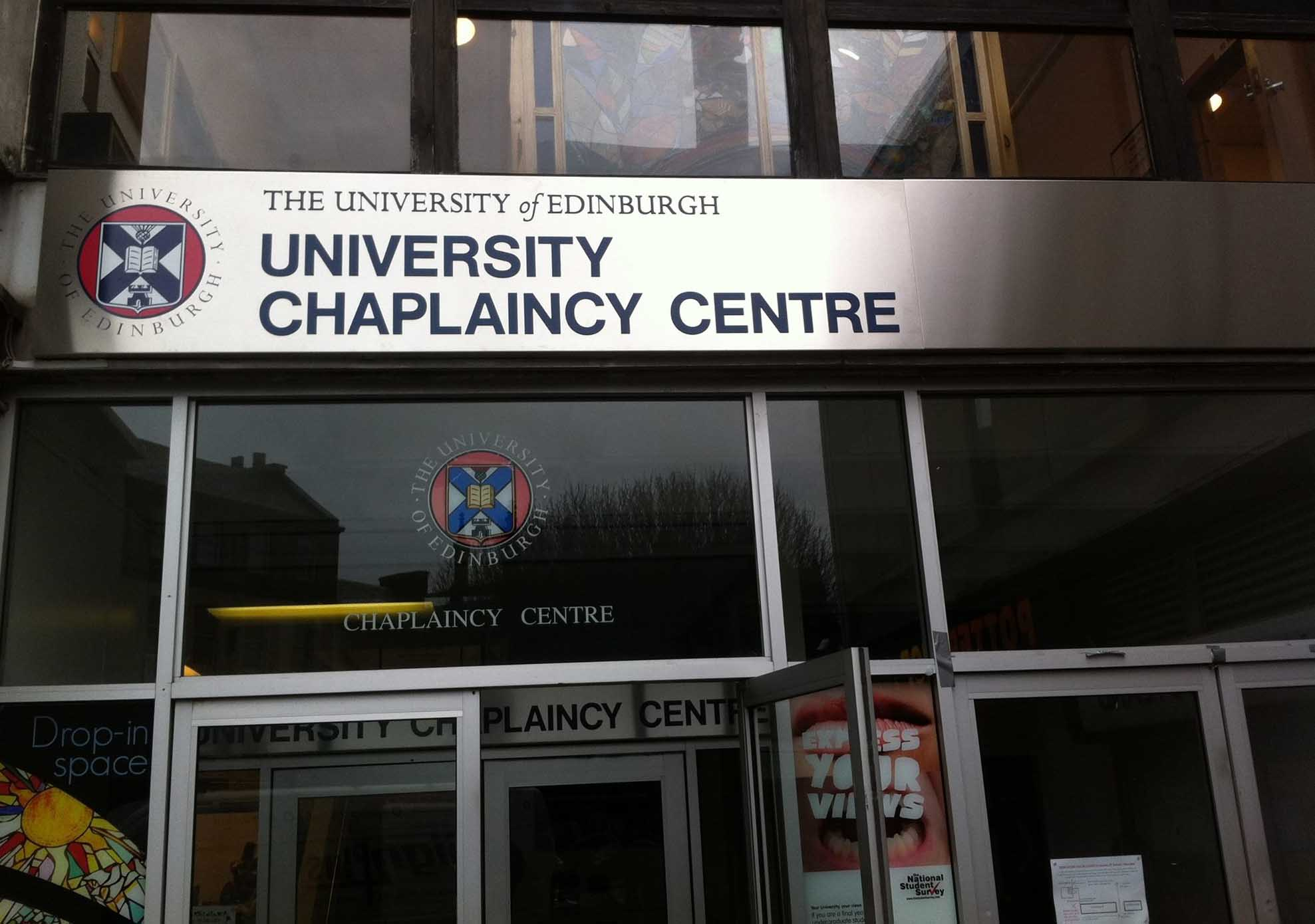 Anglican Chaplaincy University Of Edinburgh Diocese Of