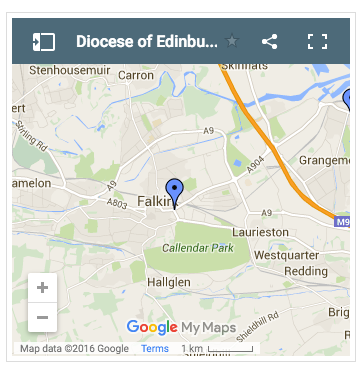 Christ Church Falkirk Map