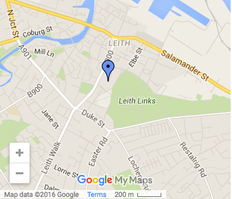 St James Leith Map