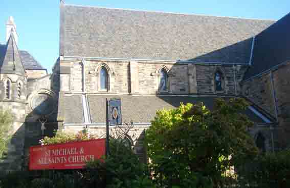 St Michael All Saints church building