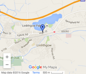 St Peters Linlithgow Map