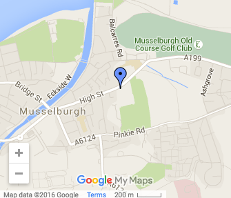 St Peters Musselburgh map