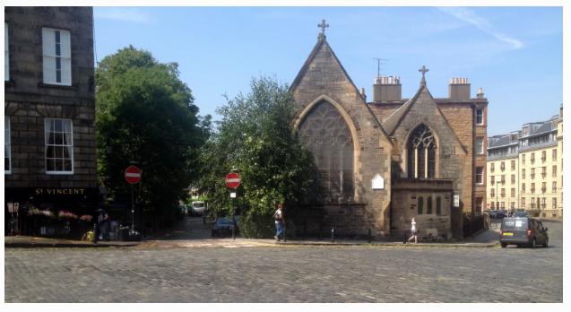 St Vincent S Chapel Stockbridge Edinburgh Diocese Of