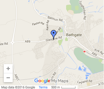 StColumbas Bathgate Map