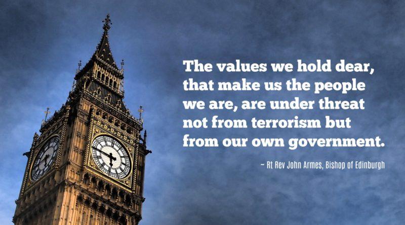 Bishop John responds to the recent terror attacks
