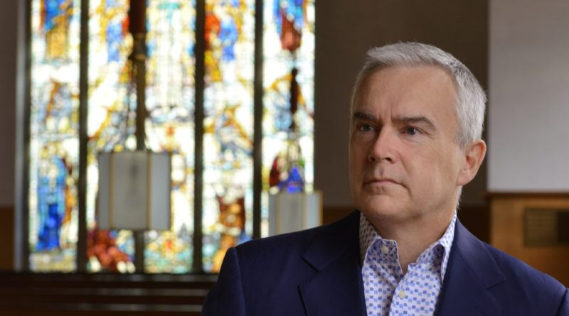 Huw Edwards in St Peter's Church