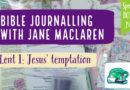 BONUS Bible Journalling Notes: Jesus' Temptation