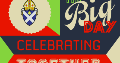 The Big Day: Celebrating Together at St Mary's Cathedral, Palmerston Place, Edinburgh, Saturday 28 April 2018