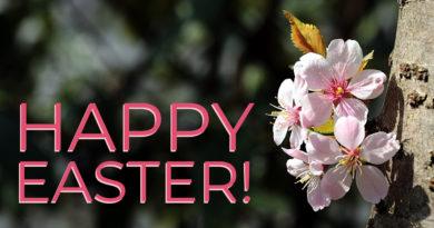 Bishop John shares an Easter Message