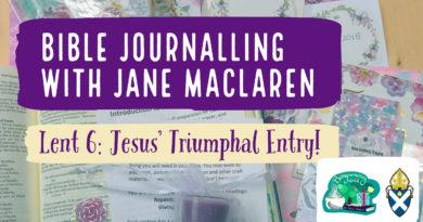 Bible journalling Lent 6: Palm Sunday